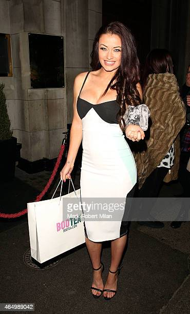 Jess Impiazzi attending The Sun Bizarre Party at Steam and Rye on March 2 2015 in London England