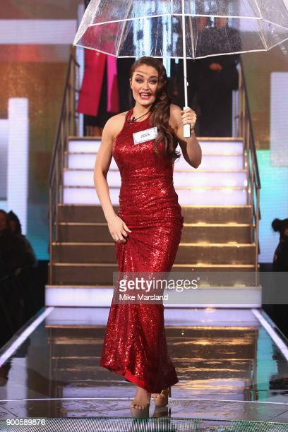 Jess Impiazzi attends the launch night of Celebrity Big Brother at Elstree Studios on January 2 2018 in Borehamwood England