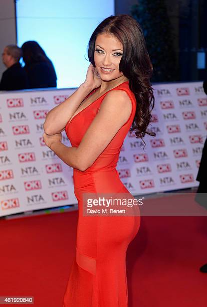 Jess Impiazzi attends the National Television Awards at 02 Arena on January 21 2015 in London England