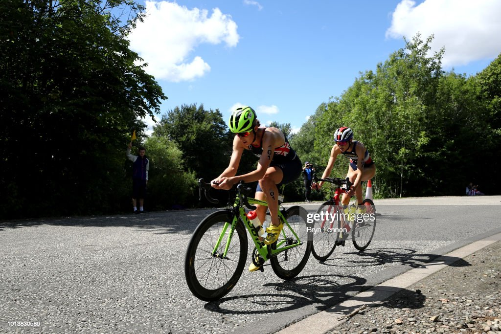 Triathlon - European Championships Glasgow 2018: Day Eight : Photo d'actualité