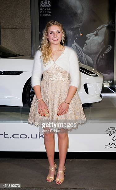 Jess Leyden attends the Jaguar Academy of Sport annual awards at The Royal Opera House on December 8 2013 in London England