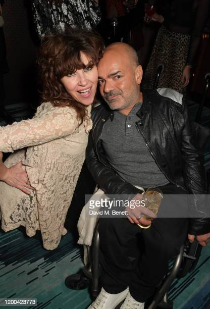 Jess Morris and Ash Atalla attend the NME Awards after party in association with Copper Dog at The Standard on February 12 2020 in London England