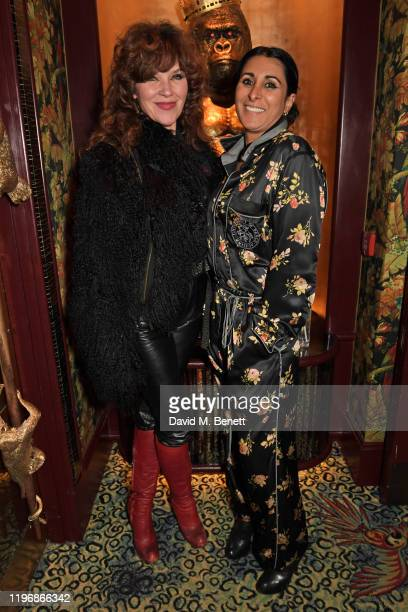 Jess Morris and Serena Rees attend the 'Country Town House Great British Brands' party at Annabel's on January 27 2020 in London England