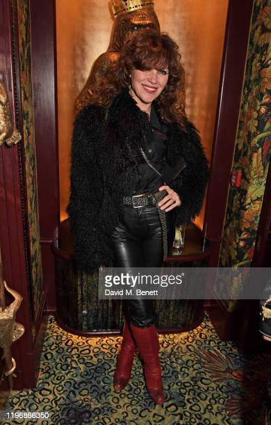 Jess Morris attends the 'Country Town House Great British Brands' party at Annabel's on January 27 2020 in London England