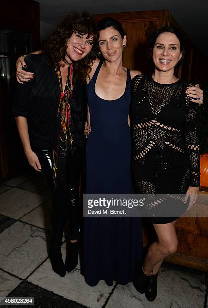 Jess Morris model Liberty Ross and actress Sadie Frost attend the Teen Cancer America Fundraiser hosted by Darren Strowger Roger Daltrey and Rebecca...
