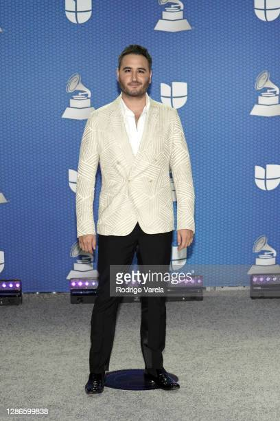 Jesús Navarro attends The 21st Annual Latin GRAMMY Awards at American Airlines Arena on November 19, 2020 in Miami, Florida.