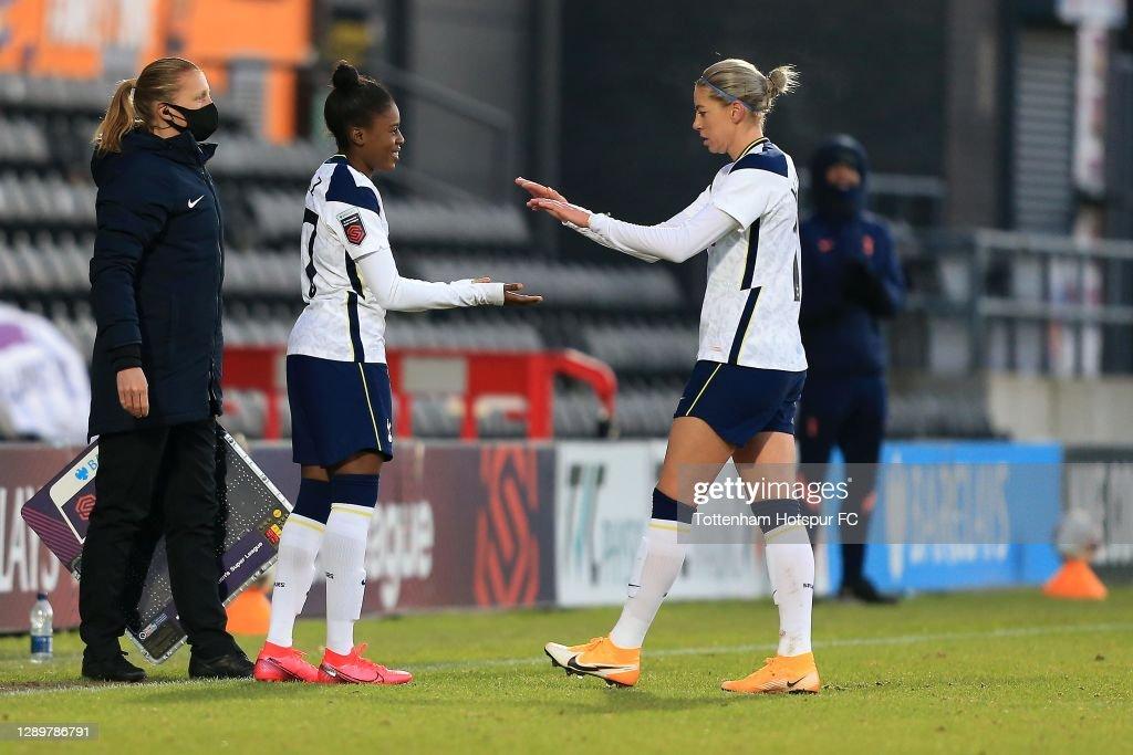 Tottenham Hotspur Women v Brighton & Hove Albion Women - Barclays FA Women's Super League : News Photo