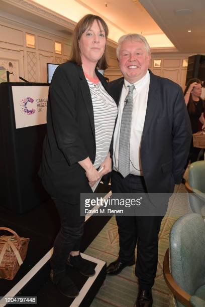 Jess Phillips and Nick Ferrari attend Turn The Tables 2020 hosted by Tania Bryer and James Landale in aid of Cancer Research UK at Fortnum Mason on...