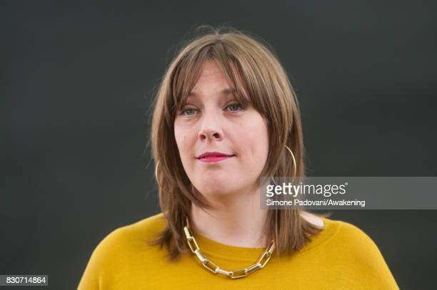Jess Phillips attends the Edinburgh International Book Festival on August 12 2017 in Edinburgh Scotland The Edinburgh International Book Festival is...