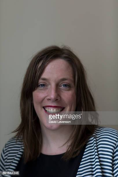 Jess Phillips British Labour Party MP during the Cheltenham Literature Festival on October 14 2017 in Cheltenham England