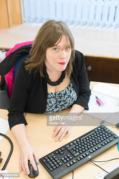 Jess Phillips in her Birmingham yardley constituency office