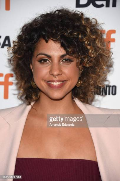 Jess Salgueiro attends the Mouthpiece premiere during 2018 Toronto International Film Festival at Winter Garden Theatre on September 6 2018 in...