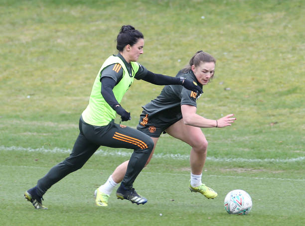 GBR: Manchester United Women Training Session