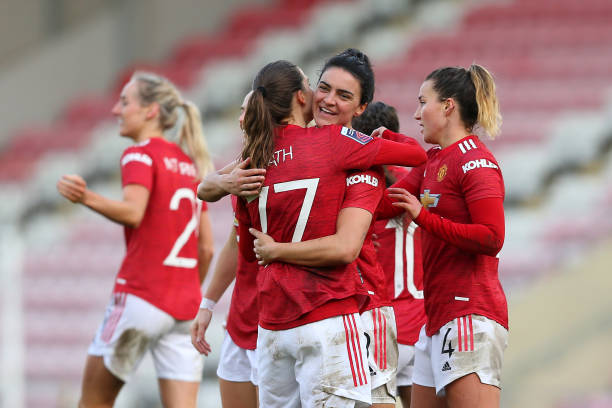 GBR: Manchester United Women v Bristol City Women - Barclays FA Women's Super League