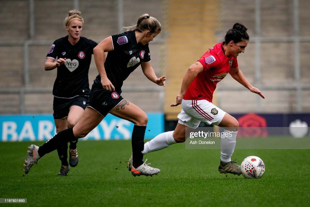 Manchester United v Bristol City - Women's Super League : Nieuwsfoto's