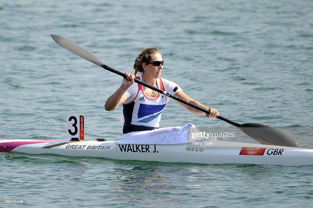 Jess Walker of Great Britain in action during the Women's