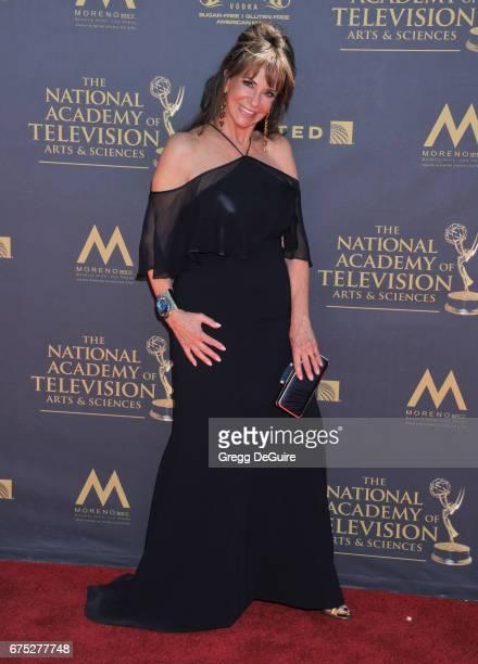 Jess Walton arrives at the 44th Annual Daytime Emmy Awards at Pasadena Civic Auditorium on April 30 2017 in Pasadena California