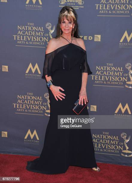 Jess Walton arrives at the 44th Annual Daytime Emmy Awards at Pasadena Civic Auditorium on April 30 2017 in Pasadena California