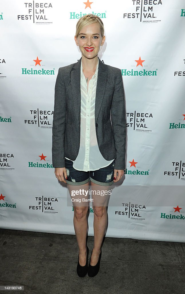 Jess Weixler attends Tribeca Film Festival 2012 After-Party For Free Samples, Hosted by Heineken on April 21, 2012 in New York City.