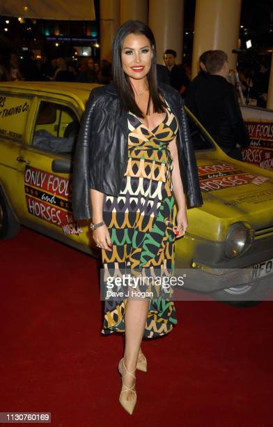 Jess Wright attends the opening night of Only Fools and Horses The Musical at Theatre Royal Haymarket on February 19 2019 in London England