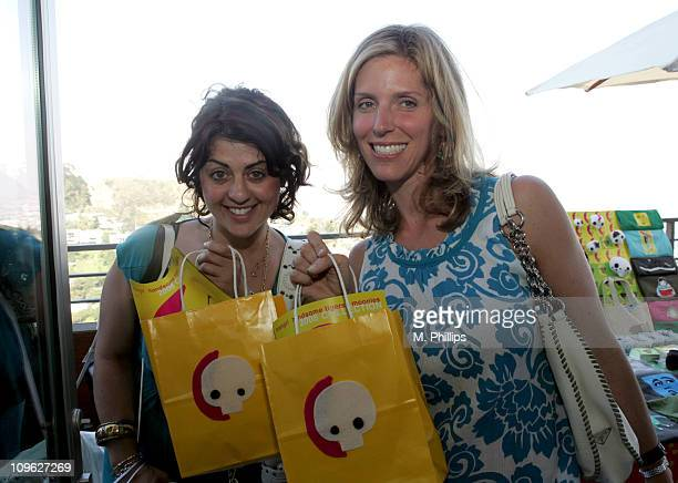 Jess Zaino and Jane Buckingham at Moongirl during Kari Feinstein Style Lounge Day 1 in Los Angeles California United States