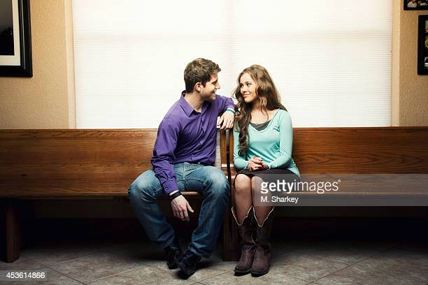 Jessa Duggar and Ben Seewald are photographed for People Magazine on March 30 2014 in Bentonville Arkansas PUBLISHED IMAGE