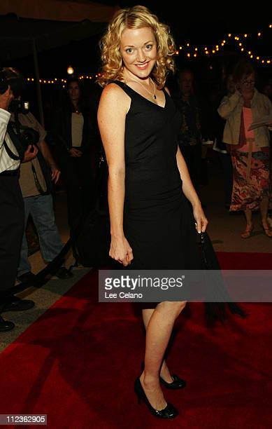 Jessa French during Curb Your Enthusiasm Season 5 Los Angeles Premiere Red Carpet at Paramount Studios in Hollywood California United States