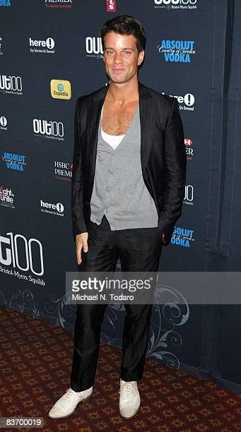 Jesse Archer attends the 15th annual OUT100 Awards at Gotham Hall on November 14 2008 in New York City