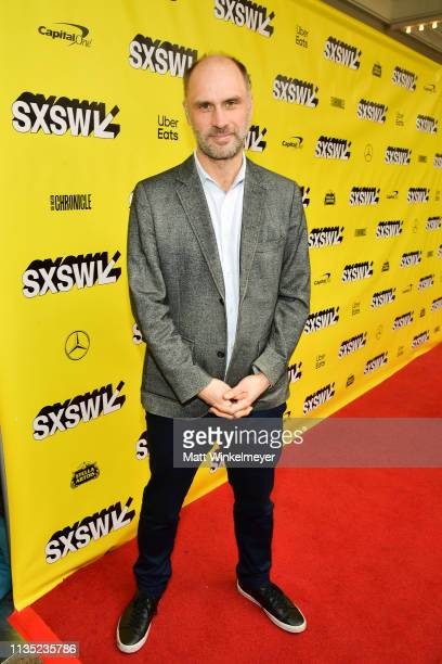 Jesse Armstrong attends the The Day Shall Come Premiere 2019 SXSW Conference and Festivals at Paramount Theatre on March 11 2019 in Austin Texas