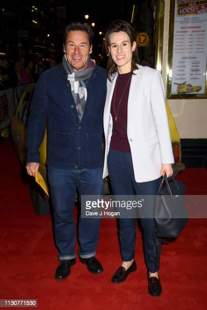 Jesse Birdsall attends opening night of Only Fools and Horses The Musical at Theatre Royal Haymarket on February 19 2019 in London England
