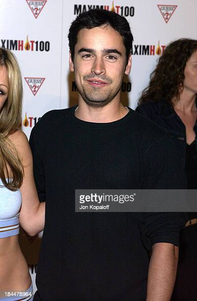 Jesse Bradford during Maxim Hot 100 Party Arrivals at Yamashiro in Hollywood California United States