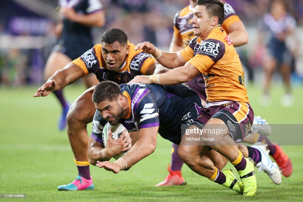 NRL Rd 1 - Storm v Broncos : News Photo