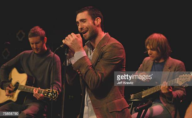 Jesse Carmichael Adam Levine and Mickey Madden of Maroon 5