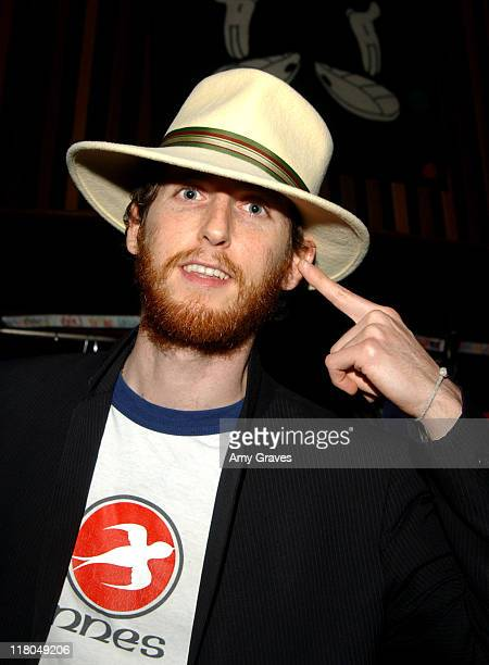 Jesse Carmichael of Maroon 5 during GRAMMY Style Studio Day 3 at Ocean Way Recording Studios in Los Angeles California United States
