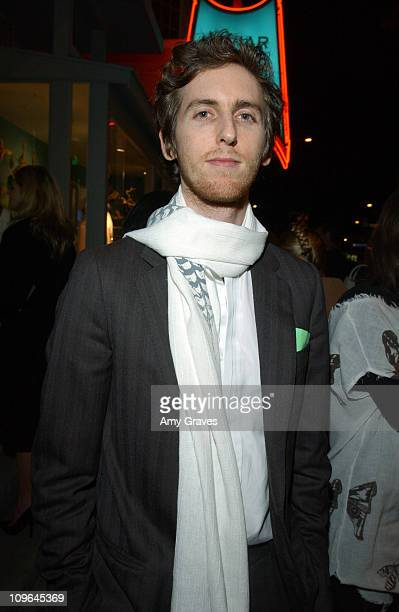 Jesse Carmichael of Maroon 5 during Kaviar and Kind Event for Nicholas Sitter and Jesse Kamm March 22 2006 at Kaviar and Kind in Los Angeles...