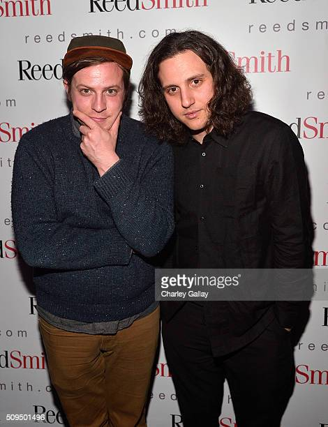 Jesse Clasen and Jacob Michael attend the Reed Smith GRAMMY Party at The Sayers Club on February 10 2016 in Hollywood California