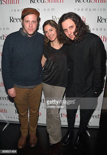 Jesse Clasen Reed Smith's Tiffany Almy and Jacob Michael attend the Reed Smith GRAMMY Party at The Sayers Club on February 10 2016 in Hollywood...