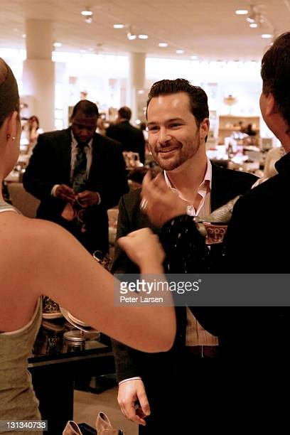 Jesse Edelman attends the Sam Edelman Nordstrom and Vogue Selling event at North Park Mall on April 30 2011 in Dallas Texas