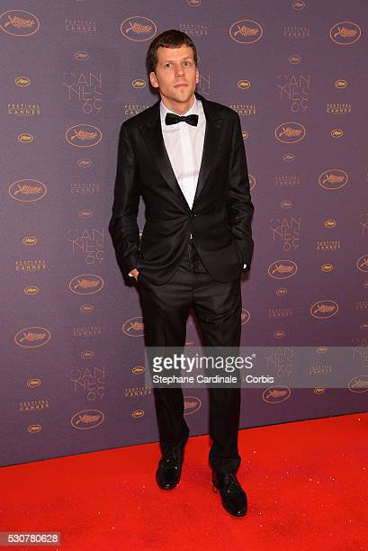 Jesse Eisenberg arrives at the Opening Gala Dinner during The 69th Annual Cannes Film Festival on May 11 2016 in Cannes France