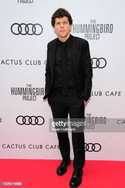 Jesse Eisenberg attends Audi Canada And Cactus Club Host The PostScreening Event For The Hummingbird Project During The Toronto International Film...