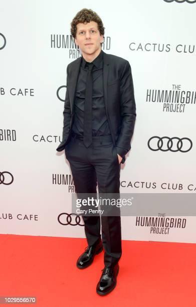 "Jesse Eisenberg attends the Cactus Club Cafe and Audi Celebrate ""The Hummingbird Project"" Starring Salma Hayek, Jesse Eisenberg and Alexander..."