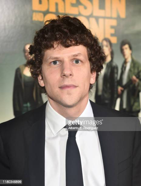 Jesse Eisenberg attends the premiere of Sony Pictures' Zombieland Double Tap at The Regency Village Theatre on October 10 2019 in Westwood California