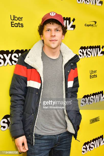 Jesse Eisenberg attends the The Art Of SelfDefense Premiere 2019 SXSW Conference and Festivals at Paramount Theatre on March 10 2019 in Austin Texas