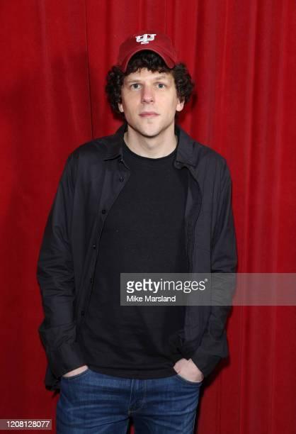 Jesse Eisenberg attends the Vivarium photocall at Curzon Soho on February 21 2020 in London England