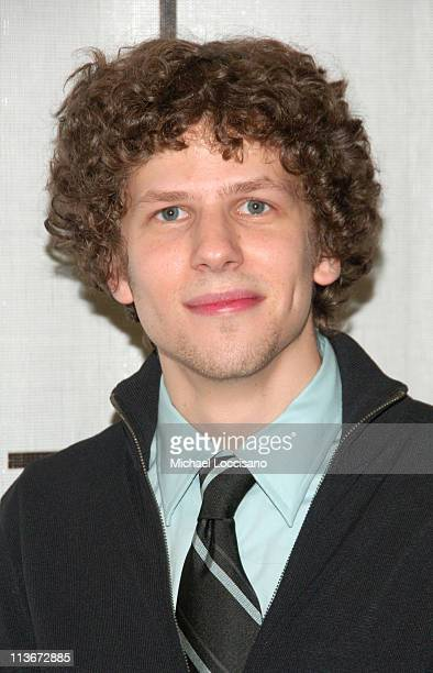 Jesse Eisenberg during 6th Annual Tribeca Film Festival 'The Education of Charlie Banks' Premiere at Chelsea Clearview Cinemas in New York City New...