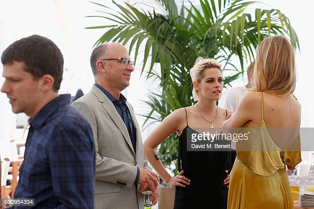 Jesse Eisenberg Kristen Stewart and Blake Lively attend the Amazon Studios 'Cafe Society' press luncheon during the 69th annual Cannes film festival...