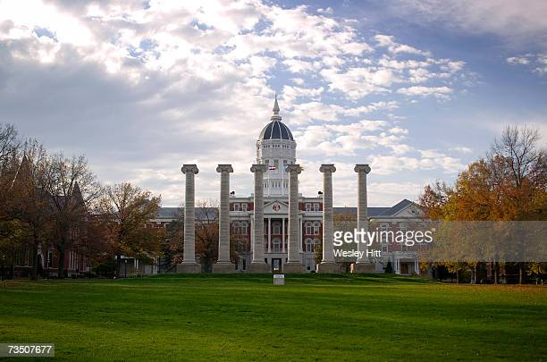 Jesse Hall and the Columns on the campus of the University of Missouri on November 12, 2005 in Columbia, Missouri.