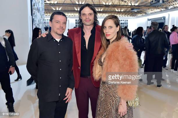 Jesse Hartwell Niki Haas and Liz Goldwyn attend Mr Chow 50 Years on February 16 2018 in Vernon California