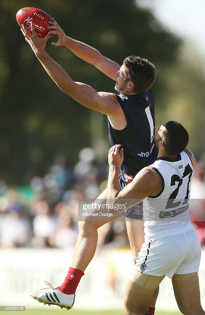 AFL Rd 9 - Melbourne v Port Adelaide