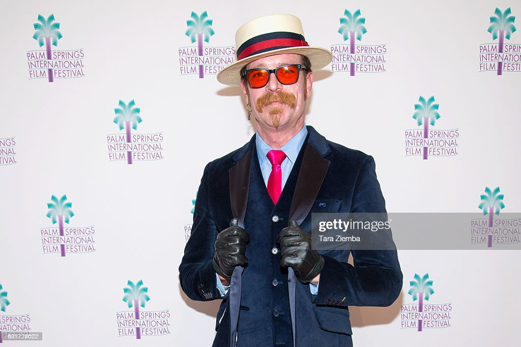 Jesse Hughes attends a screening of 'Eagles Of Death Metal: Nos Amis' at the 28th Annual Palm Springs International Film Festival at Annenberg Theater on January 14, 2017 in Palm Springs, California.